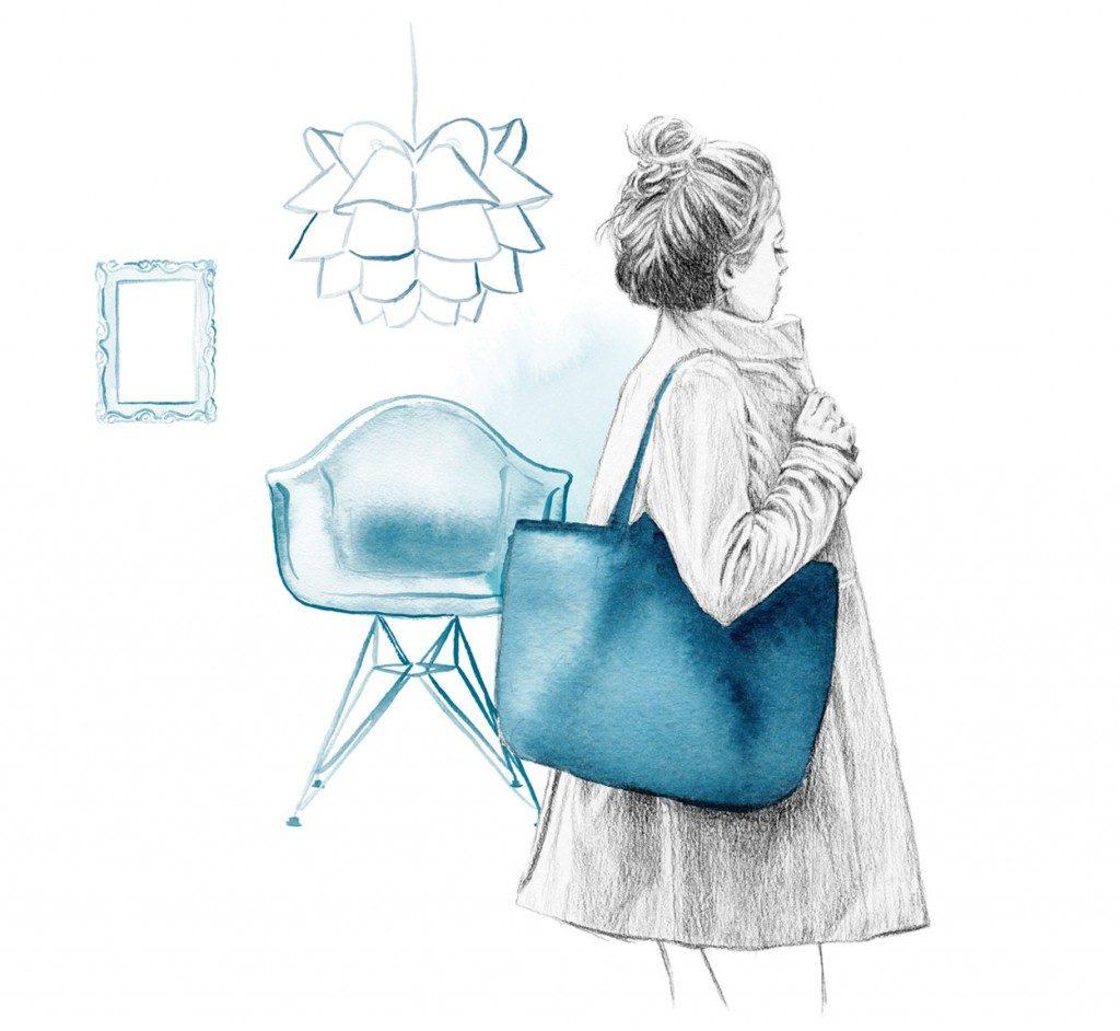 Illustration and logo design for POP-blogit
